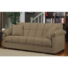 Couch Size Handy Living Convert A Couch Full Size Sleeper Sofa Mocha Bj U0027s