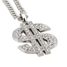 mens gold jewelry necklace images Nyuk mens gold chain necklace dollar sign pendant costume hip hop jpg