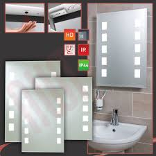Heated Bathroom Mirror With Light Heated Bathroom Mirror With Light Shaver Socket Led Lights