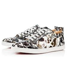 christian louboutin louis strass flat version moka christian