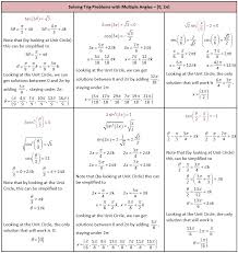 trig equations worksheet worksheets