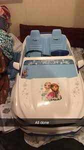 frozen power wheels sleigh power wheels disney frozen ford mustang ride on anna elsa car