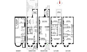 brownstone floor plan house main home building plans 84457