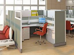 office u0026 workspace modern gray office cubicle fabric design with