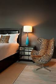 Leopard Chairs Living Room Modlinave July12 08521 Leopard Chair Black Leather Bed And