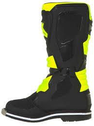 motocross boots youth fluoblack maciag offroad kids stinger sidi yellow motocross boots