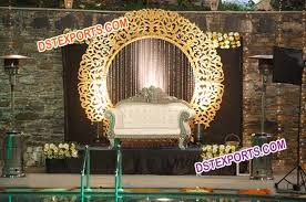 wedding backdrop frame wedding mandap stage fiber backdrop frames carriages