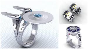 geeky wedding rings wow new wedding rings