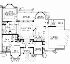 3500 square foot house plans house plans 3500 sq ft beautiful traditional style house plan 4