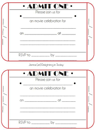 party ticket template free best 20 ticket template ideas on
