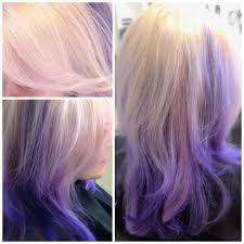 blonde bobbed hair with dark underneath blonde hair with red underneath highlights heidi hair colors ideas