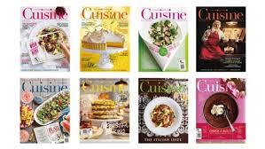 cuisiner magazine about cuisine
