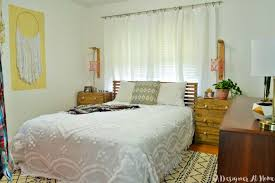 eclectic style bedroom tour boho vintage eclectic bedroom a designer at home