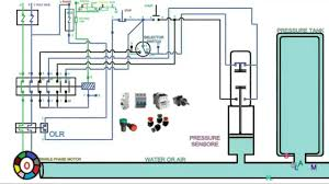 single phase water pump control panel wiring diagram inside