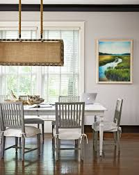 retro midcentury eclectic dining room with tulip table via