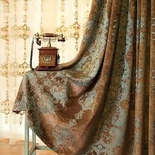 Fabric For Curtains Country Style Window Curtains In Chenille Fabric For Quality