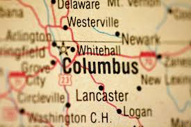 map of columbus map of columbus ohio stock images image 5033934