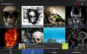 skull wallpapers 4k android apps on google play