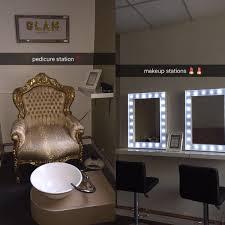 hair and makeup station glam beautybar glam beautybar