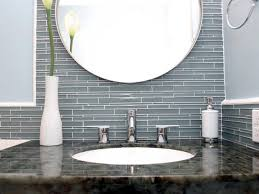 glass tile backsplash ideas bathroom glass tile bathroom backsplash photos installing mosaic square