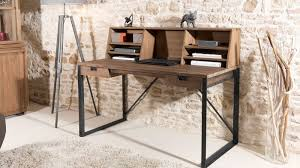 bureau metal et bois bureau bois et metal gørjan