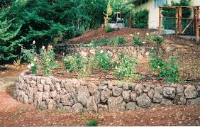 lovable deck landscaping ideas with crushed rock for backyard