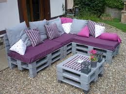 comment faire un canapé en attrayant comment faire un salon de jardin en palette liée à canapé