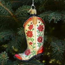 boot ornament by world outer layer