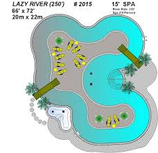 Backyard Pool With Lazy River Lazy River Pool Plan