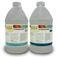countertop epoxy fx poxy uv resistant resin 1 gallon ultra