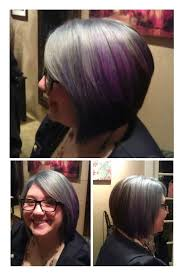 hair stylist in portland for prom silver and purple hair color pulse salon portland oregon hair by