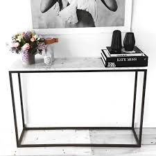 Hall Table Decor The 25 Best Marble Console Table Ideas On Pinterest Consoles