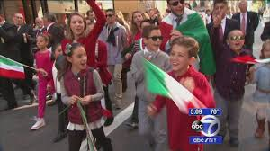 40 000 marchers 1 million spectators attend columbus day parade