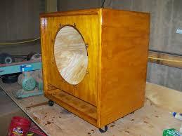 guitar speaker cabinet design any diy bass cab plans talkbass com