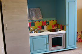 3krazychics diy play kitchen from old entertainment center