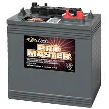 shop deka 6 volt 448 amp golf cart battery at lowes com