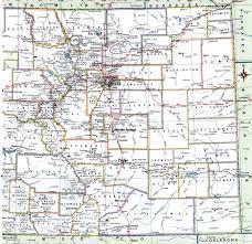 Counties In Colorado Map by Colorado County