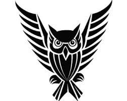 11 beautiful tribal owl tattoo only tribal