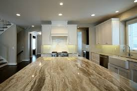 Brookhaven Kitchen Cabinets by Brookhaven White Cabinets And Fantasy Brown Marble Vervisch Homes