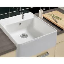 Kitchen Room Villeroy And Boch Dazzling Villeroy Boch White Ceramic Single Bowl Kitchen Sink