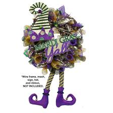 jester mardi gras jester legs mardi gras decoration set of 2