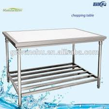 stainless steel cutting board table stainless steel work table with cutting board sinks chopping block