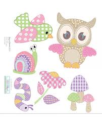 Owl Wall Sticker Owl Decals Nursery Decor Wall Mural Removable Vinyl Stickers