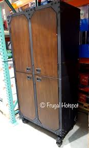 metal and wood storage cabinets brilliant whalen industrial metal and wood storage cabinet costco