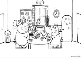 peppa pig coloring pages bestofcoloring com