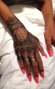 hand tattoo henna style danielhuscroft com