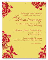mehndi invitation wording mehndi ceremony invitations on plantable paper holi by