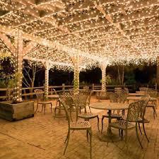 wedding backdrop lights warm white 100m fairy lights christmas tree party pergola wedding