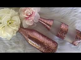 gold party decorations pink and gold party decorations diy gold and glitter wine