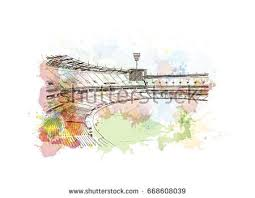 football ground stock images royalty free images u0026 vectors